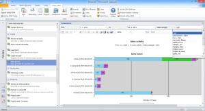 eWay-CRM Report Sales Activity