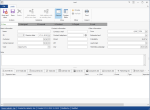 Leads in CRM for Microsoft Outlook