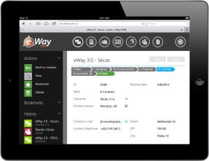 eWay-CRM Web Access Lead