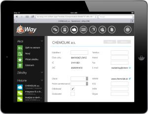 Společnost v eWay-CRM Web Access