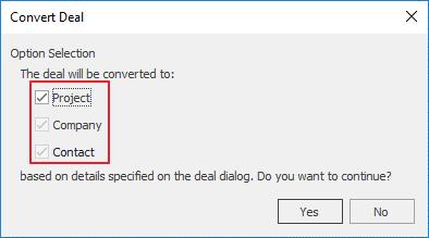 Convert Deal