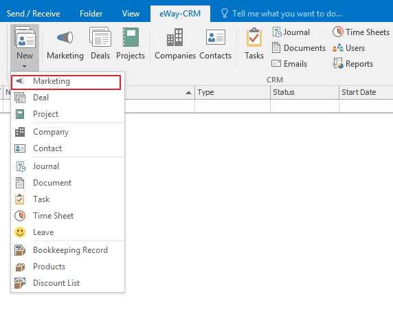 Word Mail Merge with eWay-CRM - The Best Outlook CRM Software
