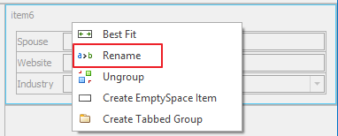 Rename Group