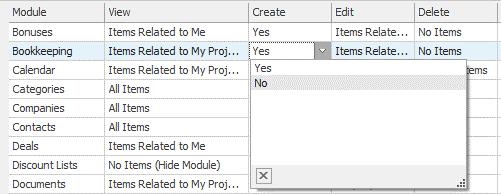Create Permissions