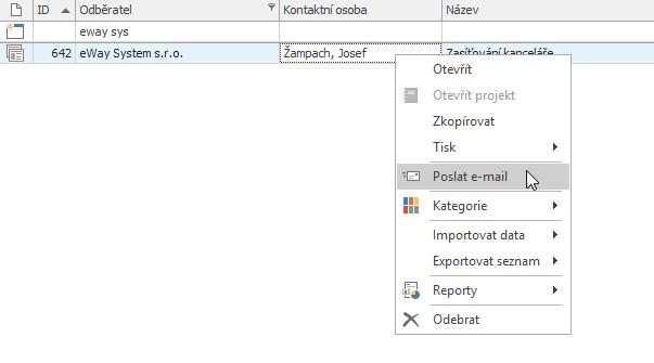 Poslat e-mail