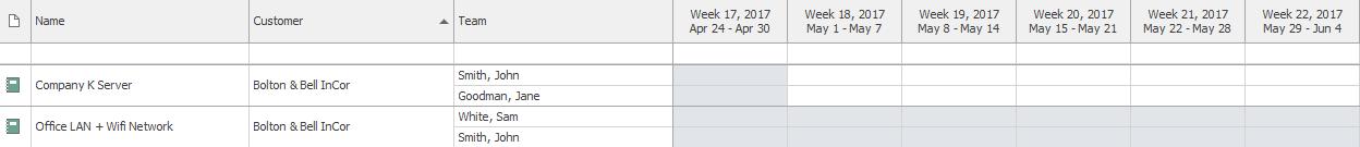 List of Calendar