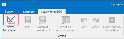 Ikona návrhu formulářů