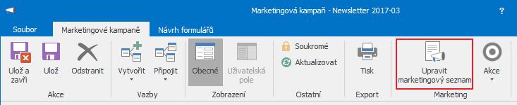 Marketingový seznam