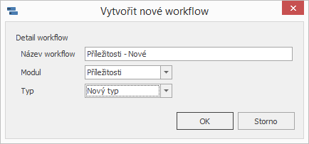 Nové workflow schéma