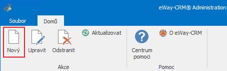 Nové uživatelské pole