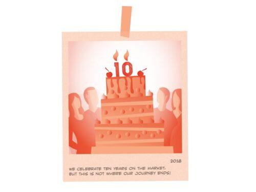 Anniversary 10 years 11 NEW