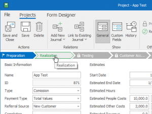 Workflow in eWay-CRM