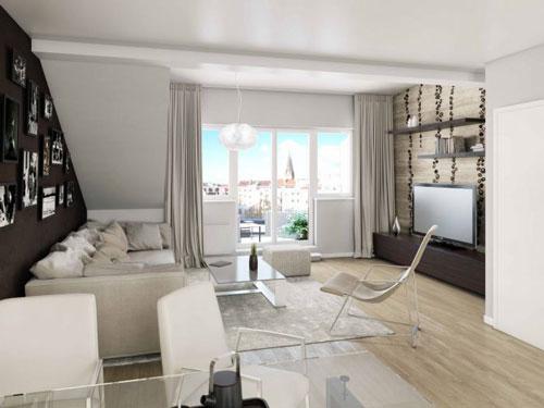 Ukázka půdního bytu