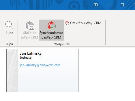 Synchronizovat s eWay-CRM