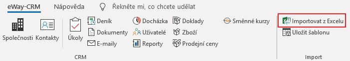 Importovat z Excelu