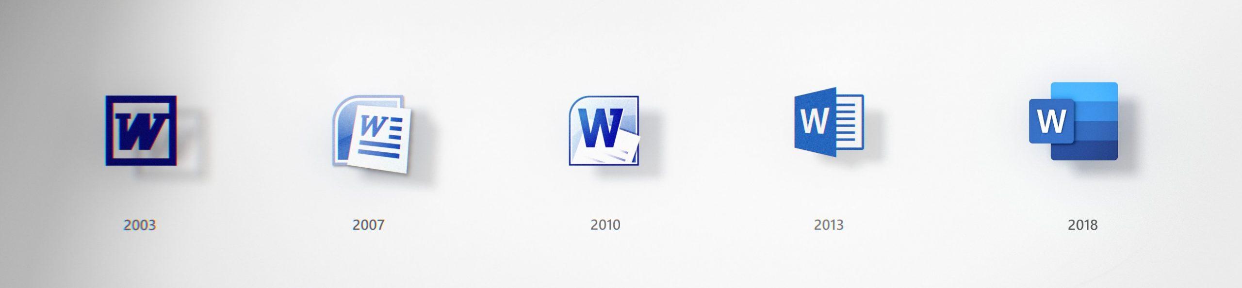 Nové ikonky Office 365 z roku 2018.