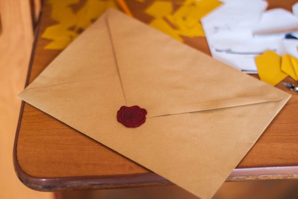 Obálka letter
