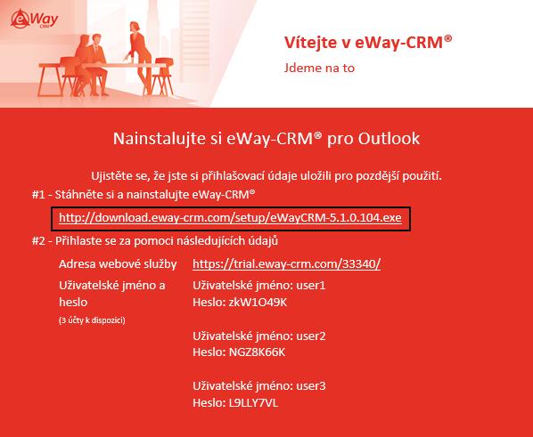 URL pro stažení eWay-CRM