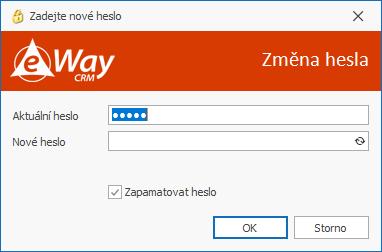 Změna hesla