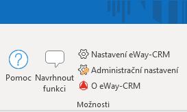 Nastavení eWay-CRM