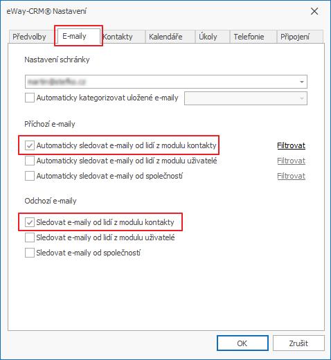 Sledování e-mailů