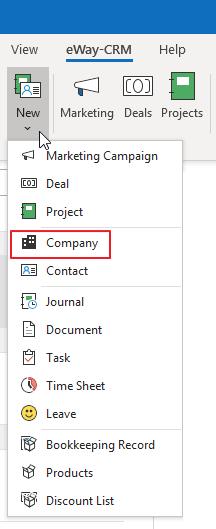 Add New Company