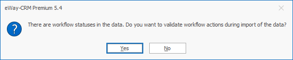 Import Workflow Dialog