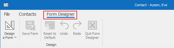 Form Designer