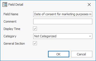 Consent Custom Field