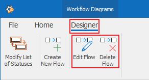 Edit or Delete Flow