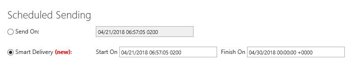 Schedule Sending