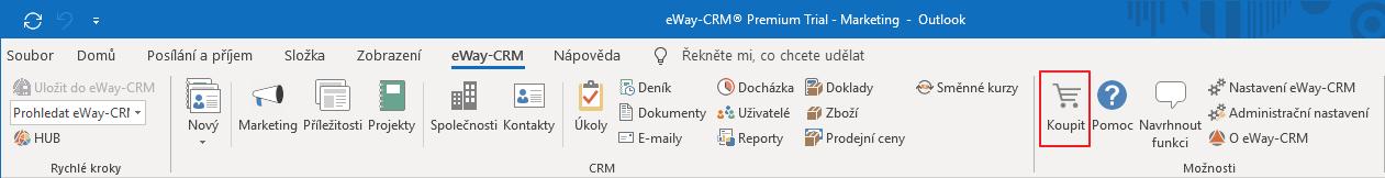 Nákup eWay-CRM