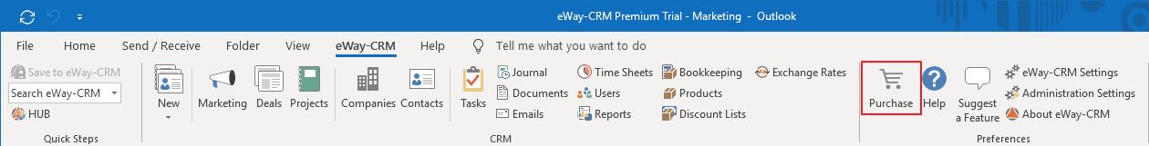 Purchase eWay-CRM