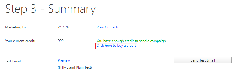 Buy Credit