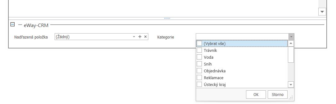 email kategorie