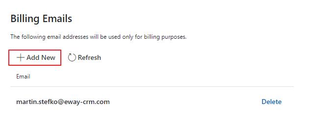 Billing Emails