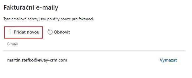 Fakturačné e-maily